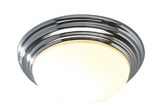 Barclay Chrome IP44 Flush Small Ceiling Light BAR5250 (052213)